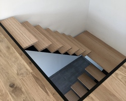 Menuiserie Sabot Prieur - Rouxmesnil Bouteilles - Escaliers sur mesure