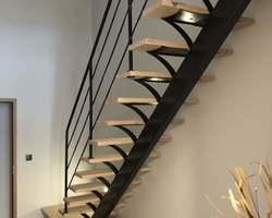 Escalier sur mesure - Dieppe - Menuiserie Sabot Prieur